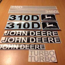 JOHN DEERE 310D BACKHOE LOADER REPRO DECAL SET