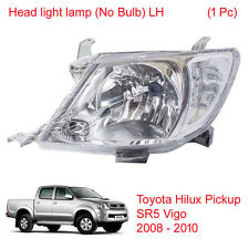 Head light lamp (No Bulb) LH 1 Pc For Toyota Hilux Pickup Vigo SR5 2008 - 2010