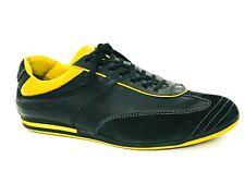 Ermenegildo Zegna Sports Men's Athletic Black Sneakers Size US.8.5 EU.41.5 UK.8