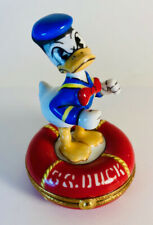 Donald Duck on Lifesaver Tube Disney Limoges Box (Artoria)