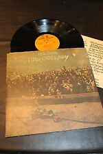 Neil Young Time Fades Away Insert Reprise 1973 Records LP EX