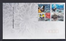 AUSTRALIAN ANTARCTIC - 2008 INTERNATIONAL POLAR YEAR set of 4 on FDC
