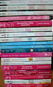 18 x Barbara Hannay Romance Bulk Lot - Pack 4