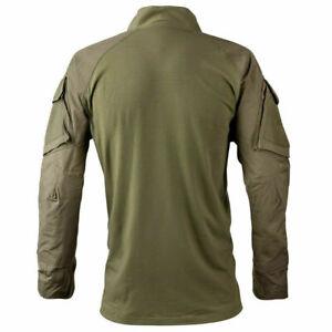 Kryptek Tactical 3 LS Zip Color: Ranger Green Large 19TACZLSRG5
