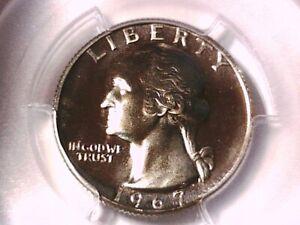 1967 P Washington Quarter PCGS SP 66 36770359