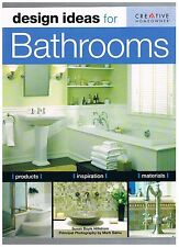 DESIGN IDEAS FOR BATHROOMS Creative Homeowner Green Ed. ~ Hillstrom 224 pg. LKN