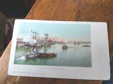 River Front  Portland Oregon   H A Hale Copyright 1899   Rarer view postcard.