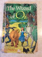 THE WIZARD OF OZ SCHOLASTIC BOOK SERVICES, 9TH PRINTING 1968, FROM GRADE SCHOOL