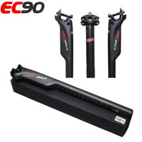 EC90 Full Carbon Bicycle Seat Tube MTB Road Bike Seatpost 27.2 / 30.8 / 31.6mm
