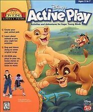 NEW Disney's the Lion King II: Simba's Pride Active Play PC Game - Free Ship !
