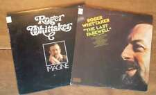2 Roger Whittaker Vinyl LP Albums Imagine, The Last Farewell