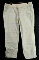 New York & Company Women's XL Stretch Waist Drawstring Front Pants