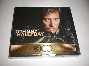 cd johnny hallyday les 50 plus belles chansons  (3 CD) neuf sous blister
