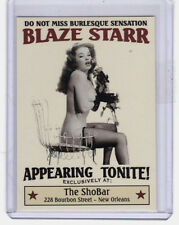 January 1958 Blaze Starr appearing at the ShoBar New Orleans burlesque stripper