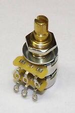 CTS 500K Split Shaft Audio Pot Potentiometer Blend Balance NEW Guitar Part