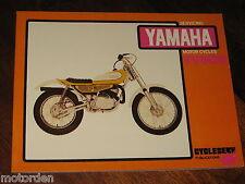 YAMAHA TY80B SERVICE WORKSHOP MANUAL 1974-1984 NEW TY 80B FREE POST!