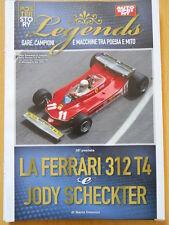 Poster Story Legends - FERRARI 312 T4 JODY SCHECKTER  [C48]