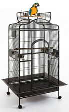 """62"""" Large Bird Parrot Open Dome PlayTop Cage Cockatiel Macaw Conure Finch 367"""