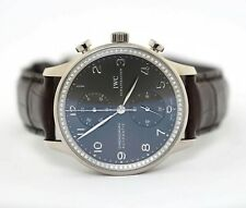 IWC Portugieser Chronograph Automatic White Gold Wristwatch IW371473