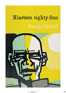 NINETEEN EIGHTY-FOUR New Poster of vintage book cover (A1 size)