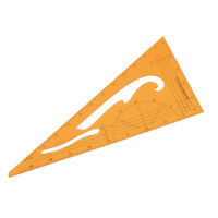Triangle Acrylic Quilting Drawing Template Patchwork Tool Sewing Scale Ruler