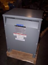 NEW SQUARE D 15 KVA 3 PHASE TRANSFORMER 480 HV 208Y/120 LV  15T3HISCUNLP