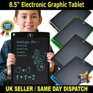 "8.5"" Electronic Graphic Tablets Drawing Board LCD Screen Writing Tablet With Pen"