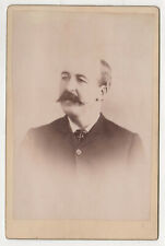 KEESEVILLE NEW YORK Cabinet Card PHOTO Photograph MARVIN John Connors 1893 NY