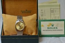 ROLEX ZEPHYR OYSTER PERPETUAL VINTAGE REF. 1008 MENS DRESS WATCH W/ BOX & PAPERS