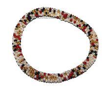 Nepal Bracelet glass beads Seed Beads Roll on Bracelets Crochet bracelet SB6