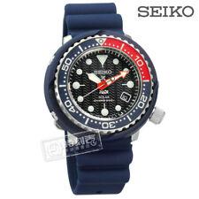 New Seiko SNE499P1 PADI Divers Blue band Pepsi Dial solar tuna 46.7MM 200m