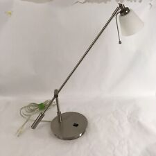 George Kovacs P211-084 Brushed Nickel Contemporary Reading Room Desk Table Lamp