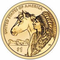 2012 Three Coin Sacagawea Native American Dollar P+D+S Set