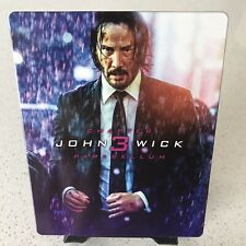 John Wick 3 Blu Ray NOVAMEDIA EXCLUSIVE steelbook