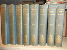 The Plays of Shakspeare/Shakespeare; 1856 - 8 Volume Set, Chalmer's Edition RARE