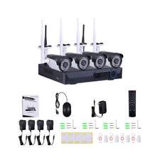 4CH 960P Wireless Wifi Security Camera Waterproof IR Night Vision CCTV System