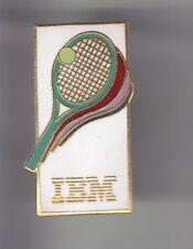 RARE PINS PIN'S .. INFORMATIQUE PC ORDINATEUR IBM TENNIS ROLAND GARROS TEAM ~CZ