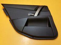 BMW 5 SERIES E60 SALOON 05' PASSENGER N/S REAR LEFT DOOR CARD GRAPHITE CLOTH