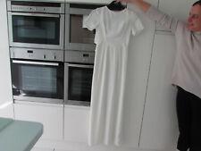 NEW!! ASOS long white scooped back maxi dress UK 8
