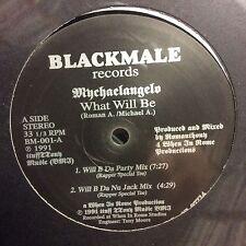 "Mychaelangelo – What Will Be / Funky BeatSEALED Black Male VINYL 12"" HOUSE"