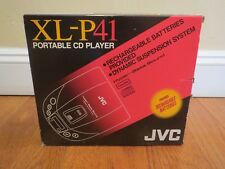 Vintage JVC XL-P41 Portable CD Player in Original Brand NEW Package Complete