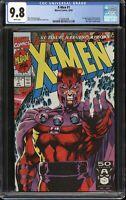 X-Men #1 CGC 9.8 Jim Lee (Marvel 10/91) 1st app Acolytes, Magneto cover variant