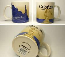 ▓#▓ Starbucks GDANSK Poland City Mug Icon * NEW with SKU * 16oz ▓#▓
