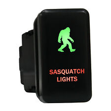 12V Push switch 8B20Gr Sasquatch Lights Led green red For Toyota Tacoma HiAce