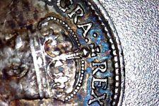 1918 Canada Silver 5 Cent AU