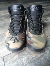 Nike Air Jordan 10 X Retro SZ 9.5 Woodland Desert Camo Chocolate 310805-201