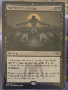 Patriarch's Bidding - NM - Modern Horizons 2 - Magic the Gathering
