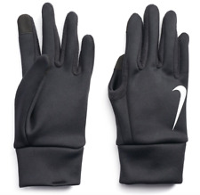 Nike Mens Gloves Thermal Texting Touch Screen Fingertip Black Medium New Warming