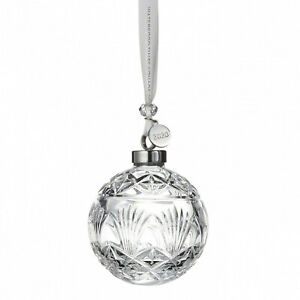 WATERFORD 2020 TIMES SQUARE BALL ORNAMENT #40035496 GIFT OF GOODWILL BNIB F/SH