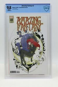 Amazing Fantasy (2021) #2 Peach Momoko Variant CBCS 9.8 Blue Label White Pages